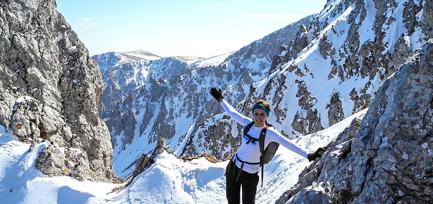 Über den Nadlgrat auf den Schneeberg