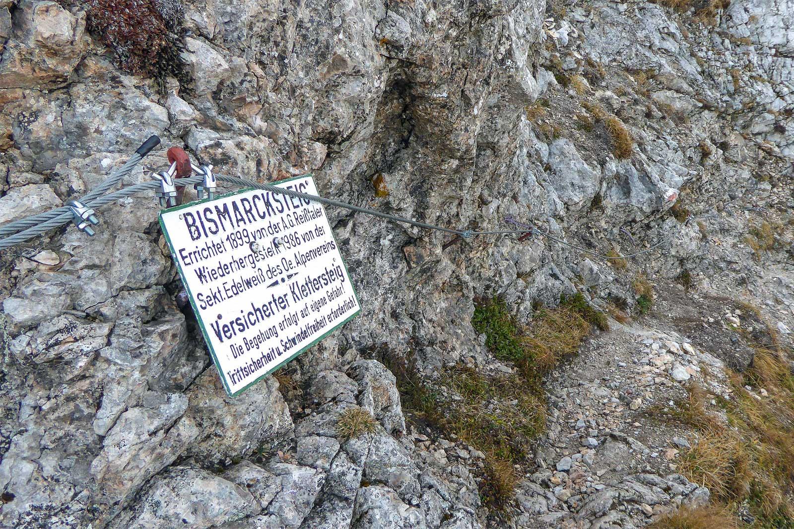 Rax: Karl-Kantner-Steig und Bismarcksteig